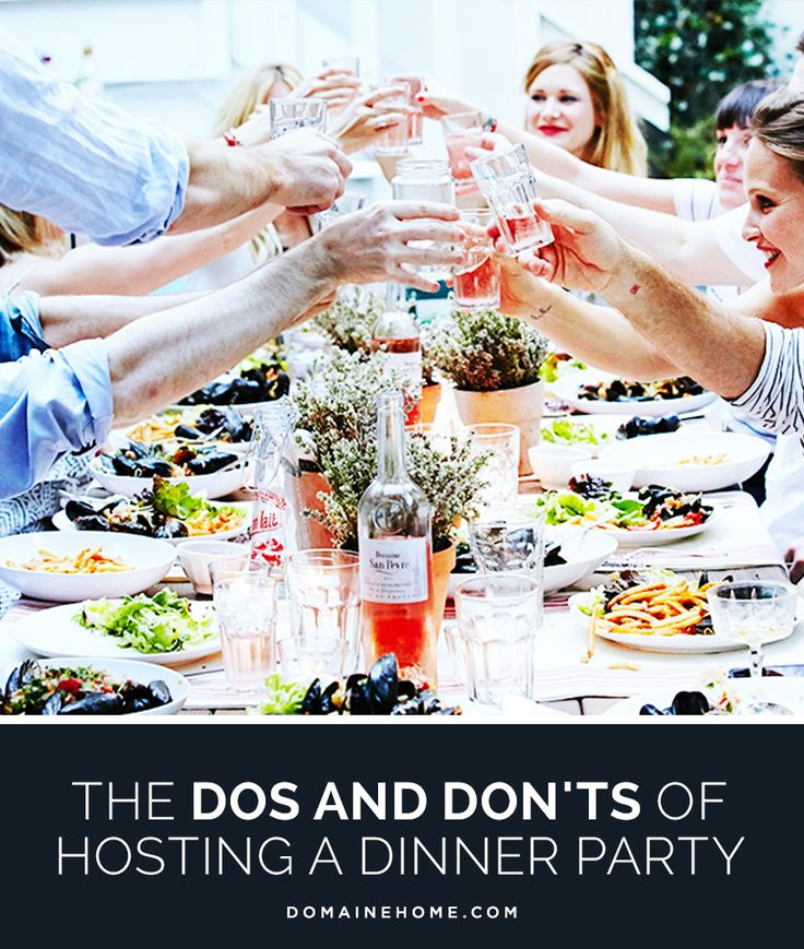 Dinner Party Entertainment Ideas Home Part - 27: The Dos And Donu0027ts Of Hosting A Dinner Party