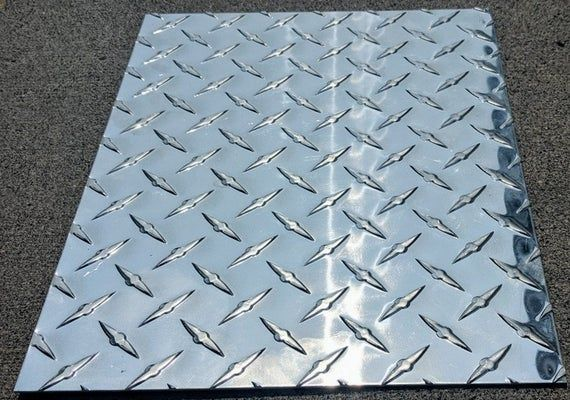 Aluminum Diamond Tread Plate Sheet 063 6 X 12 3003 H14 Checker Plate Durbar Floor Plate Tread Plate Metal Supply S Diamond Plate Aluminum Free Plates