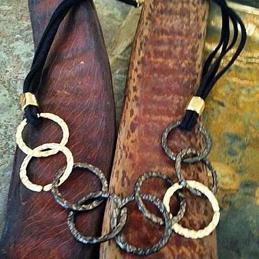 My unique handmade metalwork necklace #perfectgift #christmasgifts #MustHaveNecklace #handmade #metalworkjewelry #elegant # earthy #unique