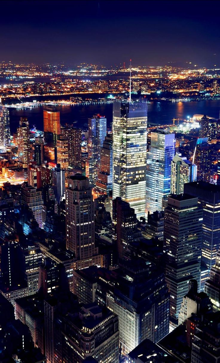 New York City Manhattan Times Square by night Top 10