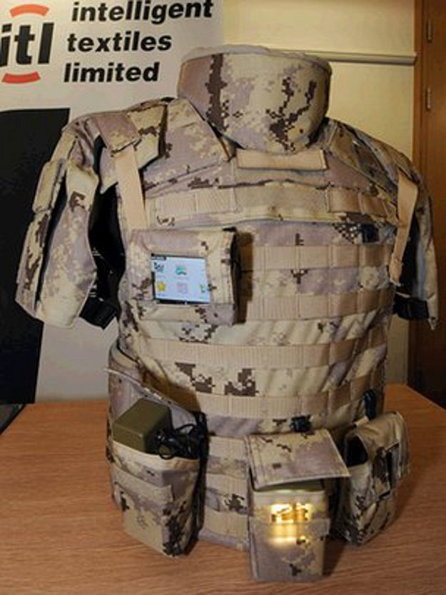 New Combat Uniform Routes Power Within Its Own Fabric #innovation #technology