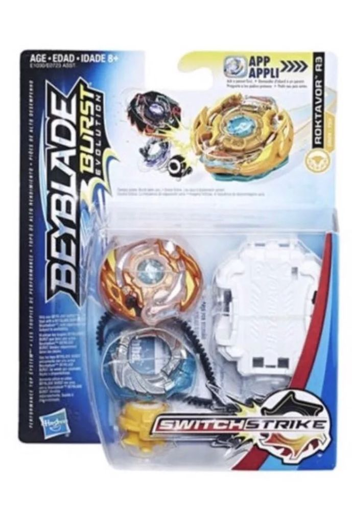 Hasbro Beyblade Burst Evolution Switch Strike Roktavor R3 Blaze