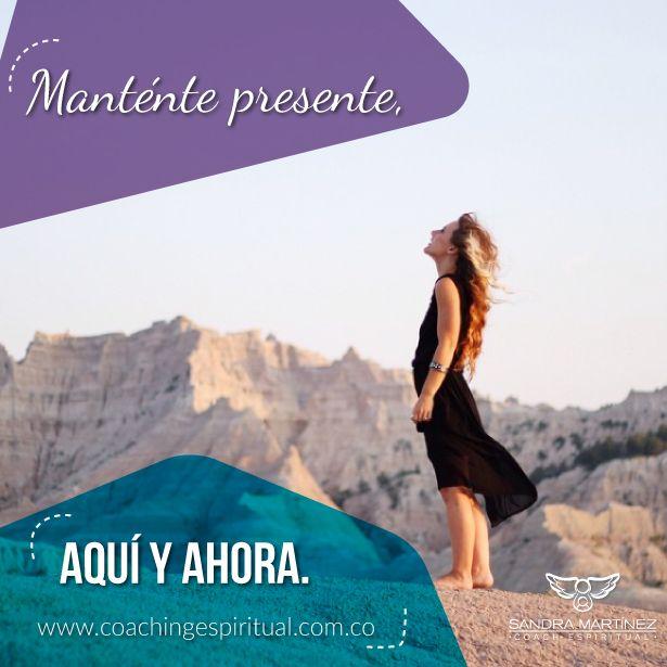 La invitación de nuestra alma: ¡Vivir en el momento presente!