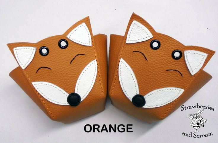 Foxes Roller Derby skate toe guards in natural leather by RedRage77 on Etsy https://www.etsy.com/listing/197385962/foxes-roller-derby-skate-toe-guards-in