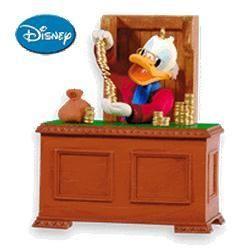 2010 Disney - Christmas Carol #2 - Scrooge McDuck Hallmark Ornament   The Ornament Shop