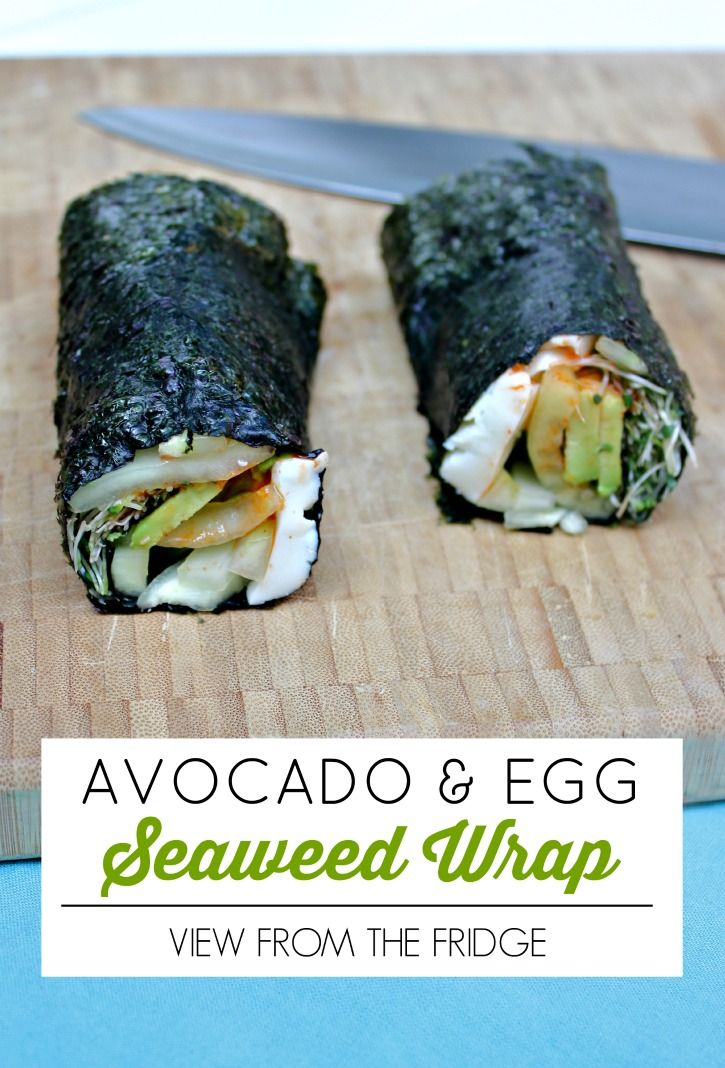 25  best ideas about seaweed wrap on pinterest