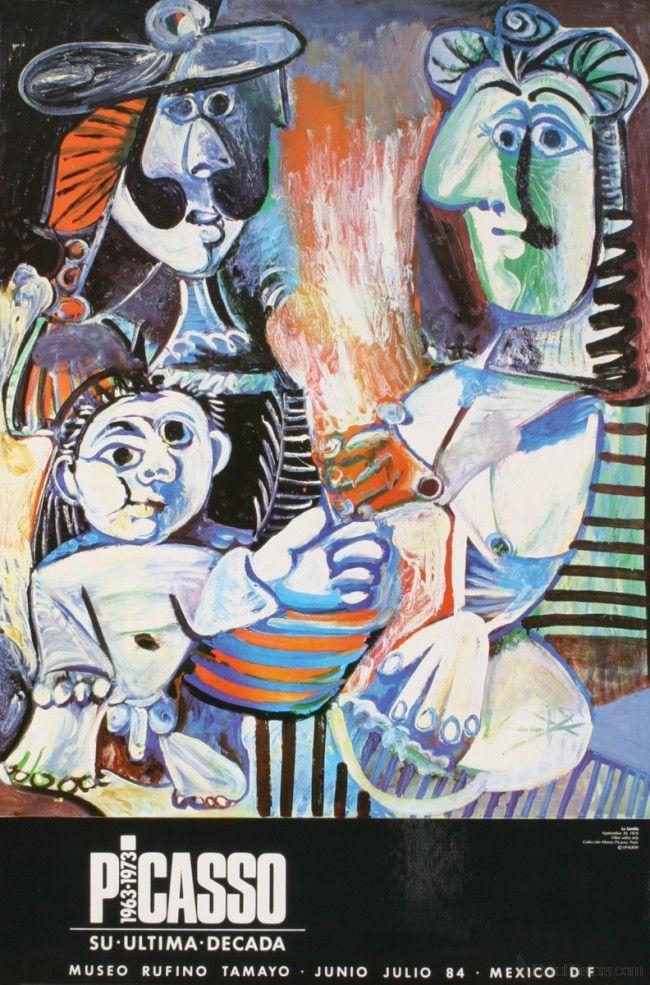 Pablo Picasso- La Familia