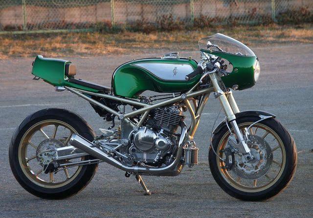 Suzuki Goose Cafe Racer ~ Return of the Cafe Racers