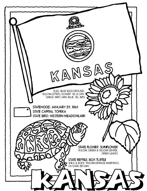 Kansas day coloring pages for kids ~ 44 best How to Eat Fried Worms Activities images on ...