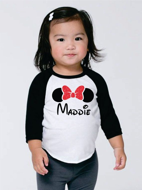 Hey, I found this really awesome Etsy listing at https://www.etsy.com/listing/252043105/minnie-mouse-personalized-shirt-for
