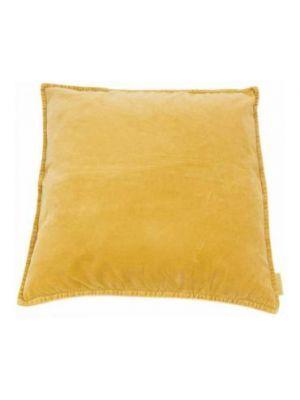 Kussen Vintage - Geel - Fluweel - MrsBLOOM