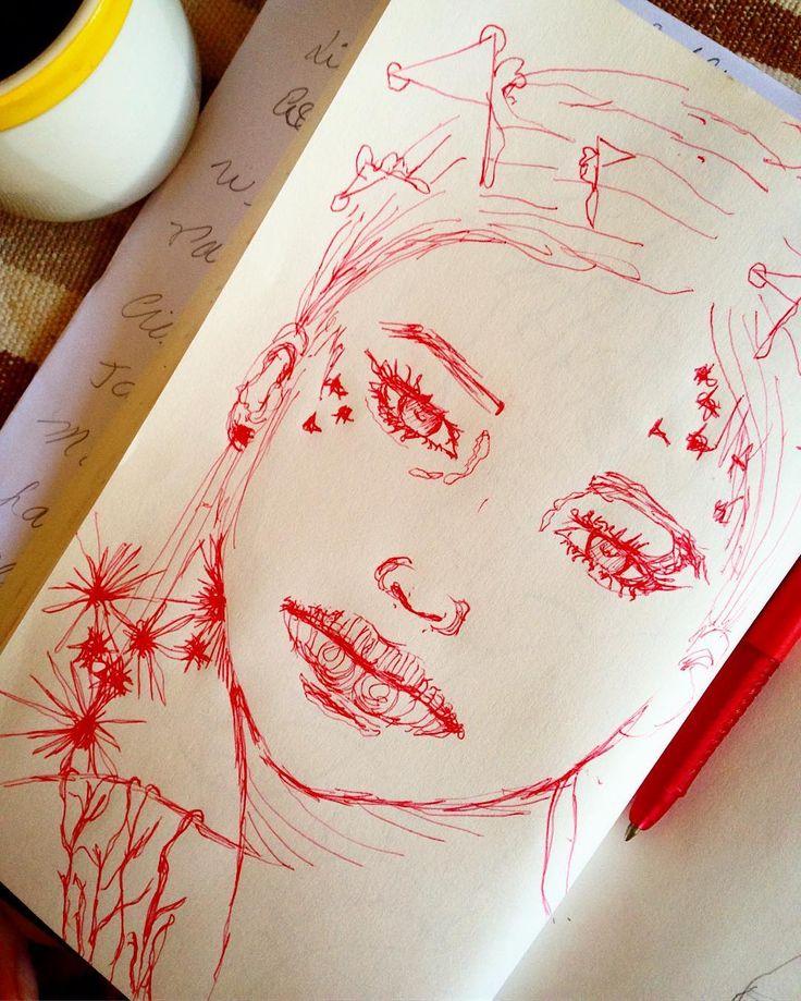 Kaffee . #sketchbook #drawing #dibujo #zeichnung #grazie_ #graziegra #gragrazie…