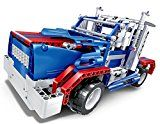 Bo Toys R/C 2 in one Sports car and Semi-trailer truck Constructing Bricks Radio Control Toy 455 Pcs DIY Kit with UNIVERSAL SERIAL BUS Rechargeable Battery Construction Build This Yourself Toys