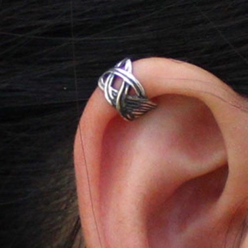 Celtic Knot Wrap ear cuff No piercing Earring wholesale