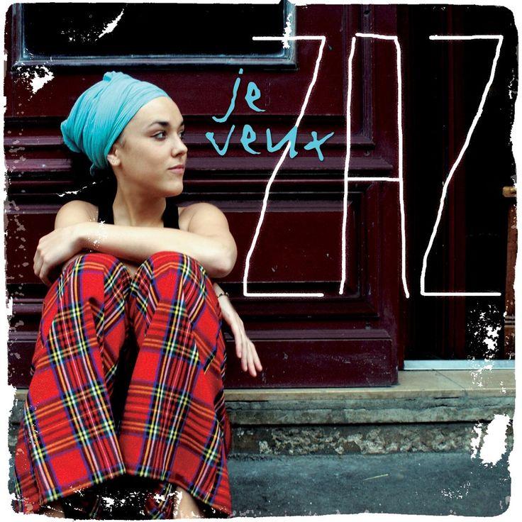 Isabelle Geffroy (Tours, 1980), Zaz, es una cantaurora que fusiona la canción francesa con el gypsy jazz. Actúa en el Madgarden de Madrid. Se hizo famosa con su canción 'Je veux', que os recomiendo escuchar.