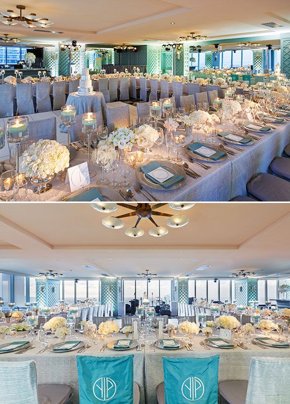 Wedding Decorations Real WeddingsTiffany Blue || Colin Cowie Weddings & 52 best Colin Cowie Events images on Pinterest | Wedding decor ...