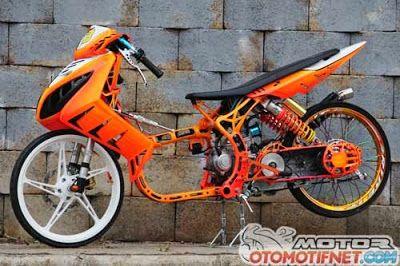 Yamaha nouvo modifikasi yamaha nouvo drag bike yamaha for Yamaha drag bike