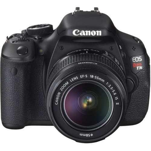 Câmera Canon Eos Rebel T3i Kit Lente 18-55mm Is Ii