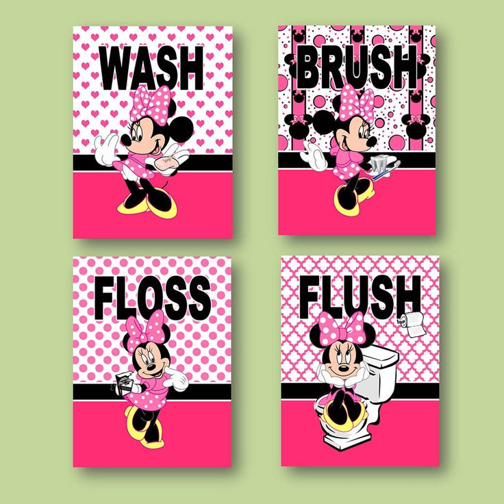 15 best Mickey Mouse Minnie Mouse Kids Wall Art images on ...
