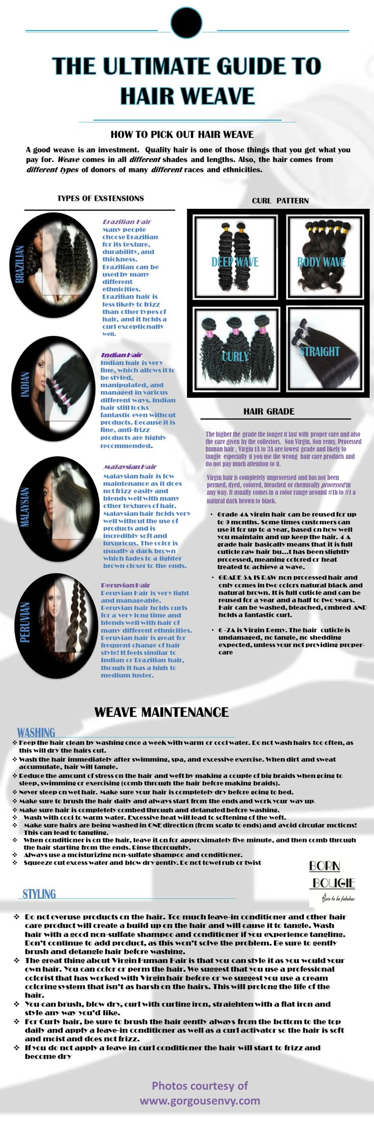 The Ultimate Guide to Hair Weave