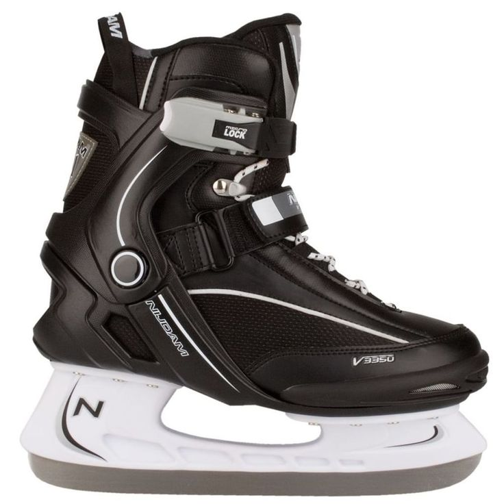 Ice Skating Shoes Sport Activity Black White Boys Comfortable Ice Skates Size 38 #IceSkatingShoes