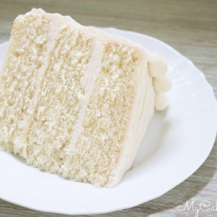 The Best Vanilla Bean Cake Recipe Recipe Vanilla Bean Cakes Sour Cream Cake Vanilla Cake Recipe