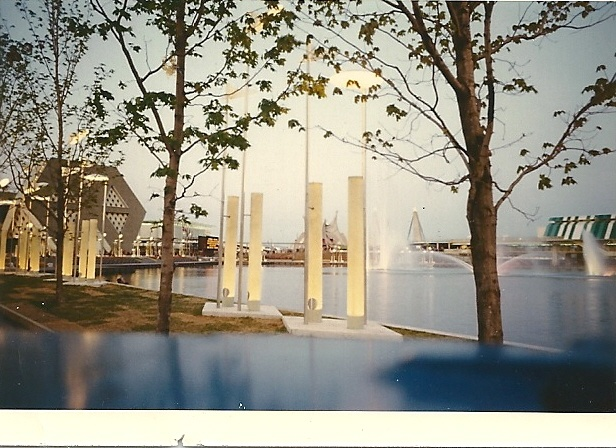 So pretty! Expo 67 and the photo was taken by my Dad