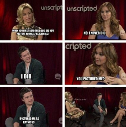 Jennifer Lawrence and Josh Hutcherson funny interview