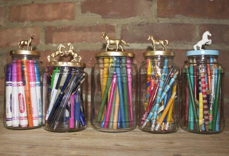 DIY: Decorative Jars   Horses & Heels