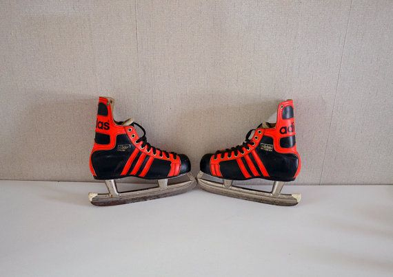 Vintage Ice Skates ADIDAS INNSBRUCK made in by EphemereIntemporel