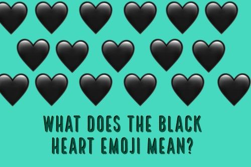 One Of The Most Beautiful Emojis That Reflects Our Mood Is Black
