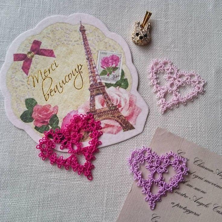 Full moon  今日は満月。 楽しい時間をお過ごし下さい  #ブランボヌール#blancbonheur#タティングレース#tattinglace#frivolite#ウエディング#wedding#満月#fullmoon#キラキラのうさぎ#11月にイベント参加します