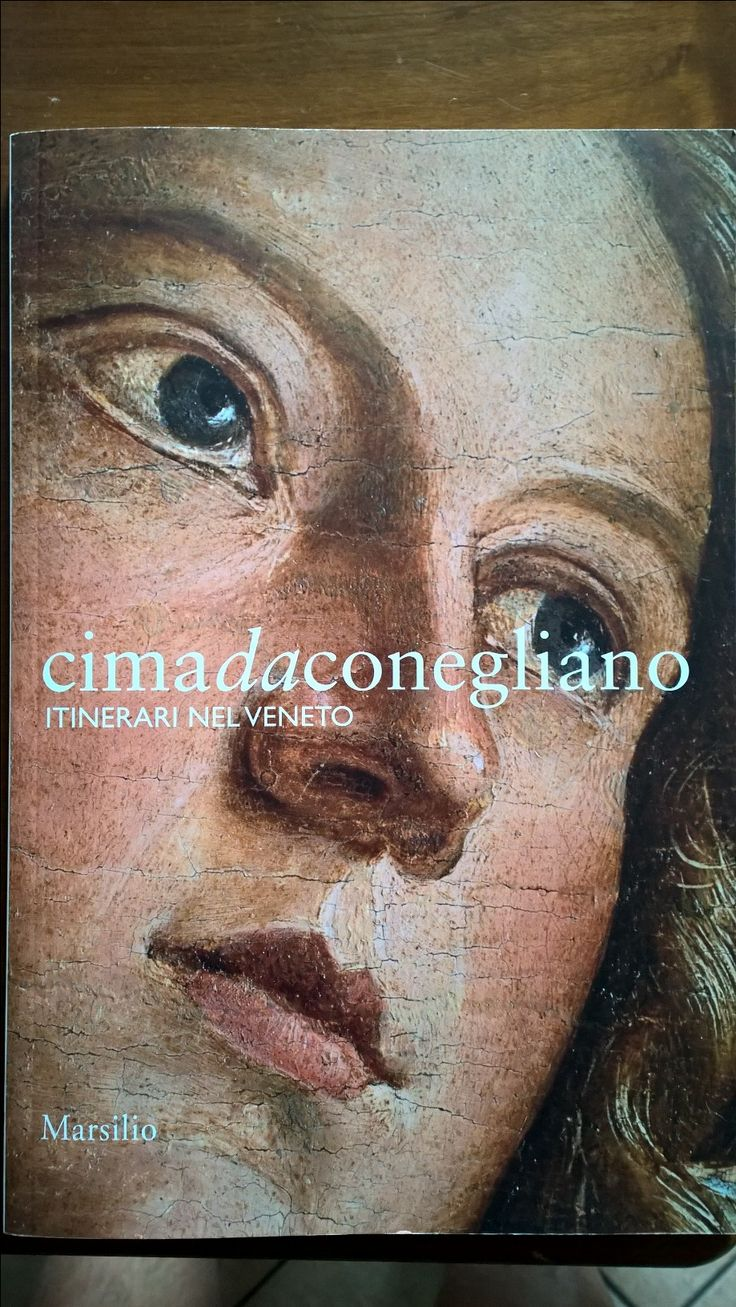 At the exhibition in Conegliano 'I VIVARINI', it was not possible to take photos, So Daniele purchased this book about Cima. Here is the front cover.