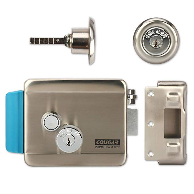 Electric Release Door Lock Zoter Electric Lock With Key No Mode For Video Door Phone Intercom Review Video Door Phone Electric Lock Home Security Systems
