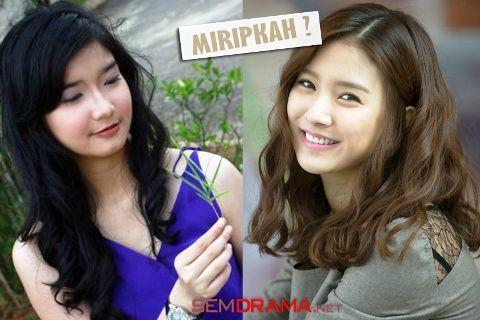 Kim So Eun vs Winda Khair