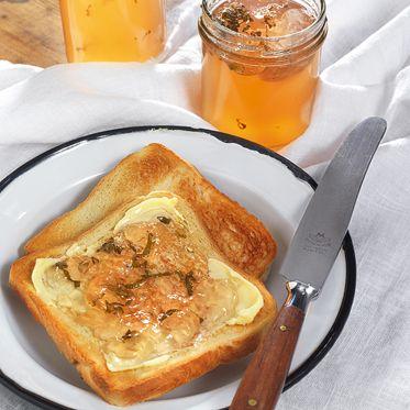 Apfelgelee mit Minze Rezept   Küchengötter