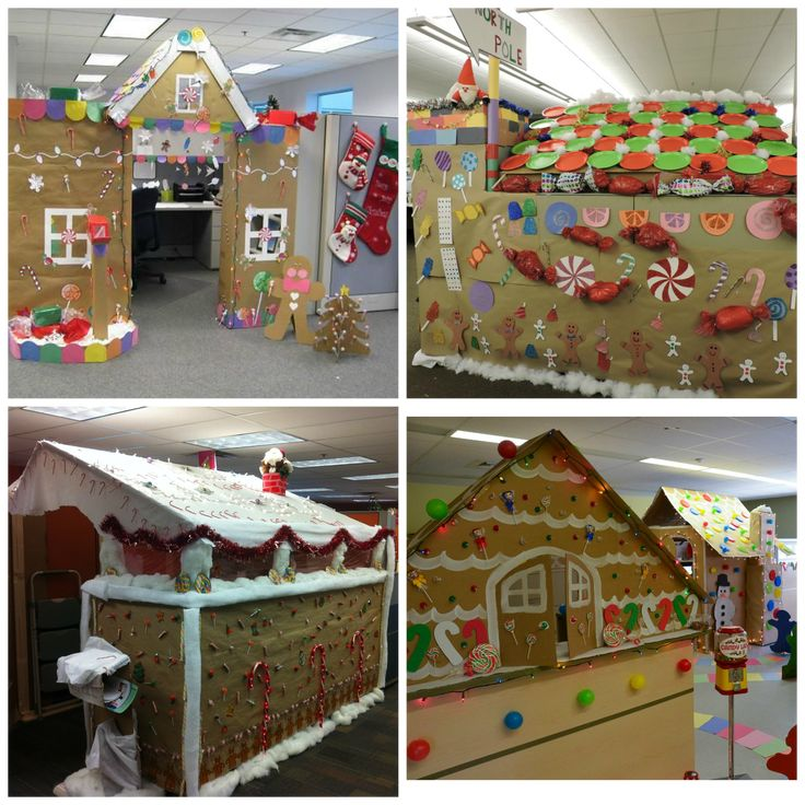 School Office Decor Christmas Gingerbread House Door: 25+ Unique Cubicle Birthday Decorations Ideas On Pinterest