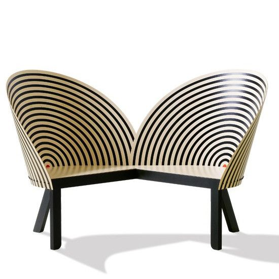 Bench for Two | Nanna Ditzel | #bench #chair