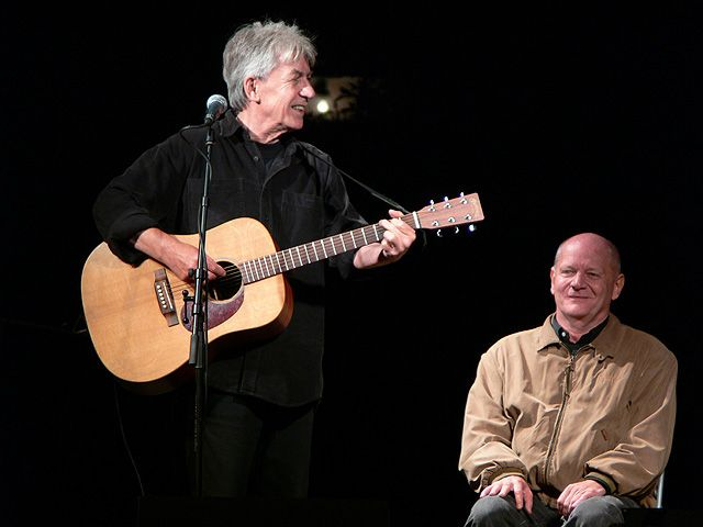 Cseh Tamás utolsó nagykoncertje  a pulai Bárkaréten Másik Jánossal 2006 és Bereményi Gézával
