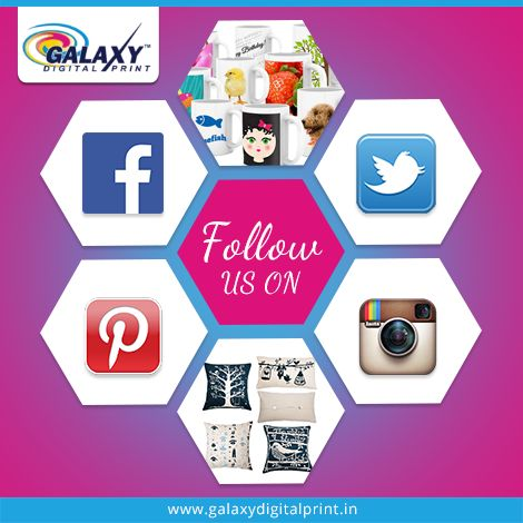 Click to follow us, like us. We are now available at different social media platforms.Stay with us for more updates. Get to know more of our services & visit our websites:  http://galaxydigitalprint.in/