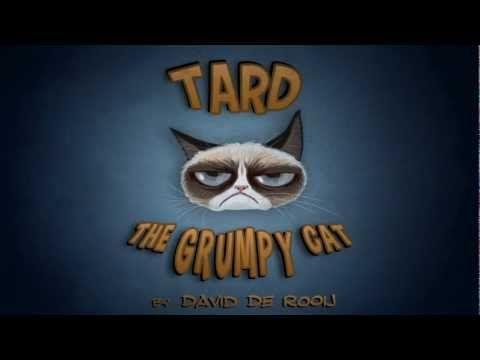 Tard the Grumpy Cat Cartoon! | Animator: David de Rooij - http://www.davidderooij.nl