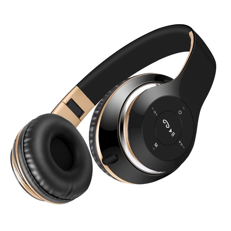 Sound Intone BT-09 Audifonos Inalambricos Bluetooth Stereo Headset Earburds with Mic Support TF Card FM Radio for Phone MP3 PC