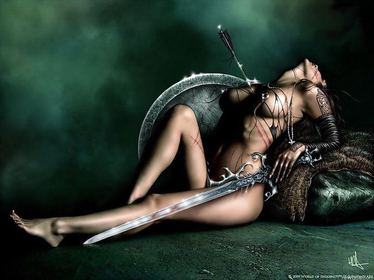 Erotic fantasy women warriors