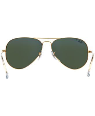 Ray-Ban Sunglasses, RB3025 62 Aviator - Gold