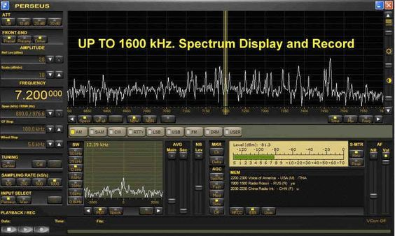 Perseus Software Defined Radio (SDR) | Music | Ham radio
