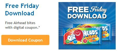 FREE Air Heads for Kroger shoppers. Load the free friday download today and get your freebie by 9-6-14 Click the link below to get all of the details ► http://www.thecouponingcouple.com/kroger-free-friday-download-for-8-22/