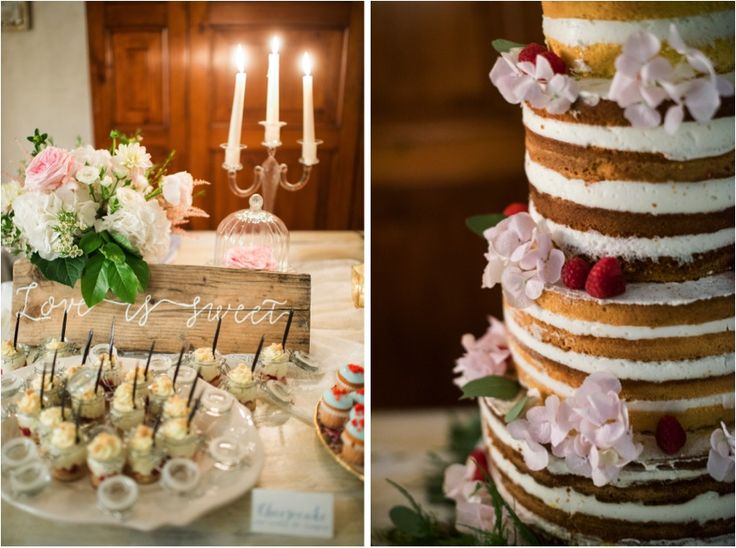 Naked cake and sweet table | Where Pretty Happens