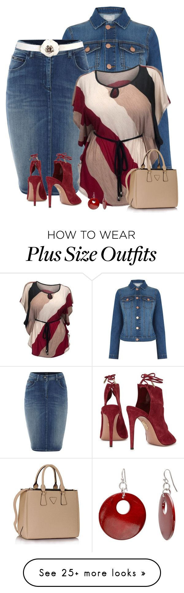 """Plus size style"" by kamkami on Polyvore featuring Oasis, Armani Jeans, Aquazzura and Mixit"