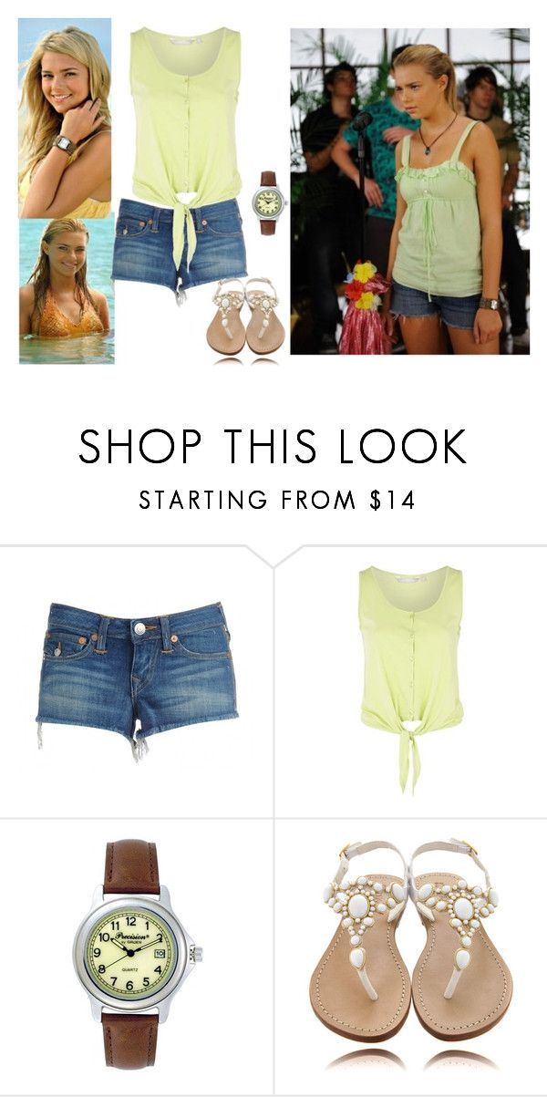 """Mis Summer, Inspired By: Bella Hartley"" by madisonbritney ❤ liked on Polyvore featuring H2O+, Red Herring, Mystique, h2o just add water, indiana evans and bella hartley"