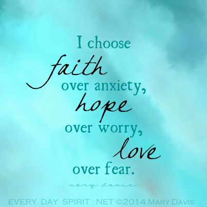 One loving, positive choice at a time! Every Day Spirit